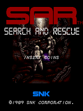 SAR - Search And Rescue (World) Title Screen