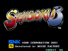 Sengoku 3 Title Screen