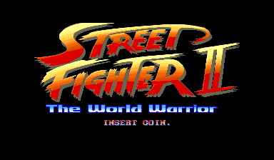 Street Fighter II: The World Warrior (TAB Austria, bootleg, set 1) Title Screen