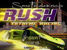 San Francisco Rush (boot rom L 1.0) Title Screen