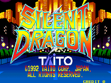 Silent Dragon (World) Title Screen