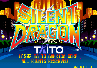 Silent Dragon (US) Title Screen