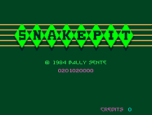 Snake Pit Title Screen