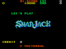 Snap Jack Title Screen