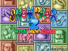 snow bros 3 game 2 player