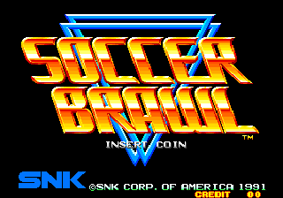 Soccer Brawl (Set 2) Title Screen