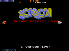 Son Son Title Screen