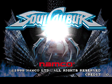 Soul Calibur (World, SOC14/VER.C) Title Screen