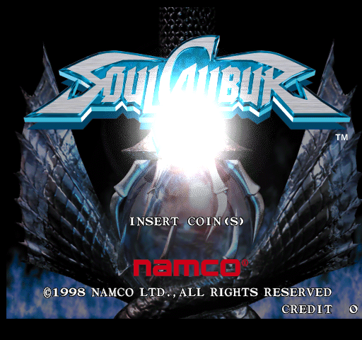 Soul Calibur (Japan, SOC11/VER.B) Title Screen