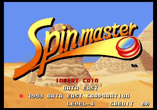 Spin Master / Miracle Adventure Title Screen