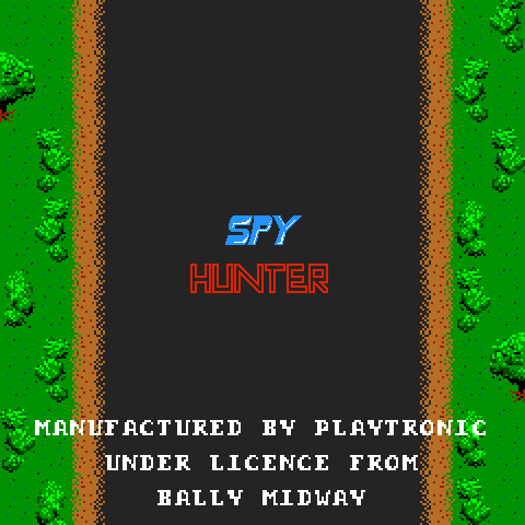 Spy Hunter (Playtronic license) Title Screen