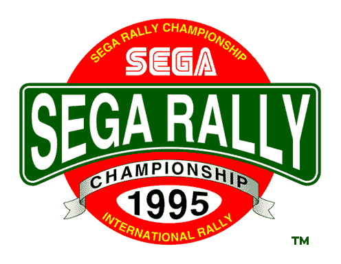 Sega Rally Championship - TWIN/DX (Revision C) Title Screen