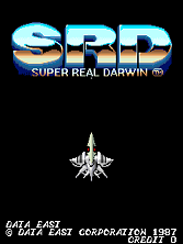 Super Real Darwin (World) Title Screen
