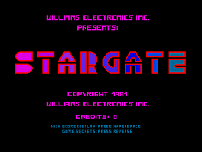Stargate Title Screen