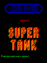 Super Tank Title Screen