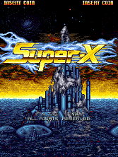 Super-X (NTC) Title Screen