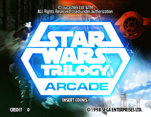 Star Wars Trilogy (Revision A) Title Screen