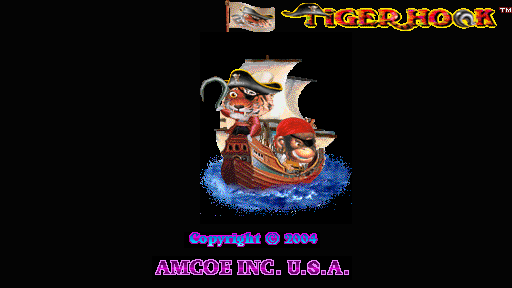 Tiger Hook (Version 2.1R Dual) Title Screen