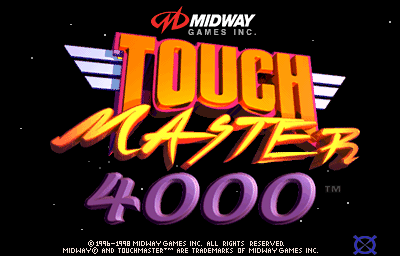 Touchmaster 4000 (v6.03 Standard) Title Screen