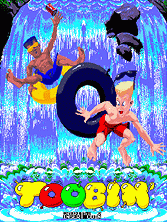 Toobin' (rev 3) Title Screen