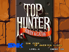 Top Hunter: Roddy & Cathy (Set 1) Title Screen