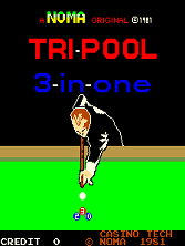 Tri-Pool (Casino Tech) Title Screen