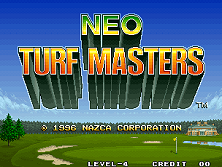 Neo Turf Masters / Big Tournament Golf Title Screen