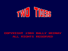 Two Tigers (dedicated) Title Screen