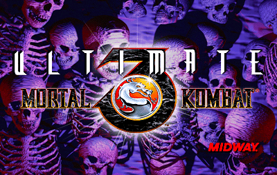 Ultimate Mortal Kombat 3 (rev 1.0) Title Screen