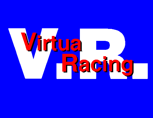 Virtua Racing Title Screen
