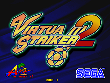 Virtua Striker 2 (Step 2.0) Title Screen