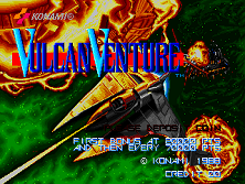 Vulcan Venture (New) Title Screen