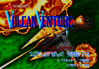 Vulcan Venture (Old) Title Screen