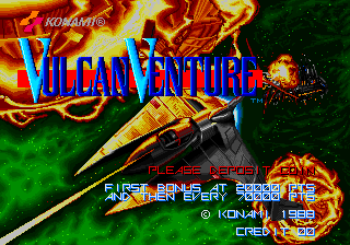 Vulcan Venture (Oldest) Title Screen
