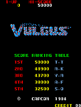Vulgus (set 1) Title Screen