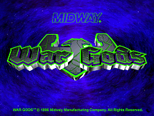 War Gods (HD 10/09/1996 - Dual Resolution) Title Screen