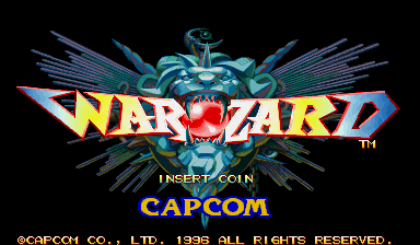 Warzard (Japan 961121) Title Screen