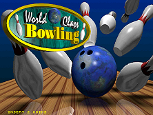 World Class Bowling Deluxe (v2.00) Title Screen