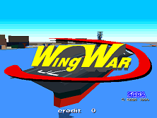 Wing War (World) Title Screen