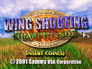 Wing Shooting Championship V2.00 Title Screen
