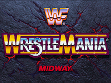 WWF: Wrestlemania (rev 1.30 08/10/95) Title Screen