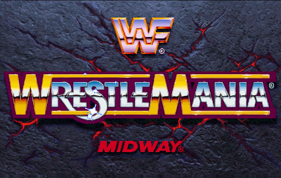 WWF: Wrestlemania (rev 1.20 08/02/95) Title Screen