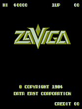 Zaviga Title Screen