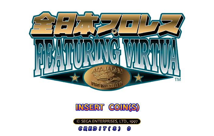 Zen Nippon Pro-Wrestling Featuring Virtua