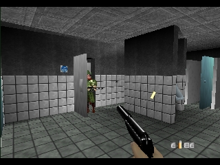 007 - GoldenEye (USA) In game screenshot