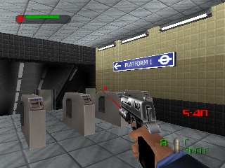007 - The World Is Not Enough (Europe) (En,Fr,De) In game screenshot