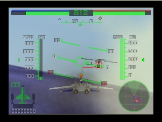 AeroFighters Assault (Europe) (En,Fr,De) In game screenshot
