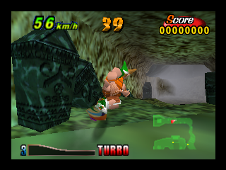 Air Boarder 64 (Japan) In game screenshot