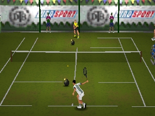 All Star Tennis '99 (USA) In game screenshot
