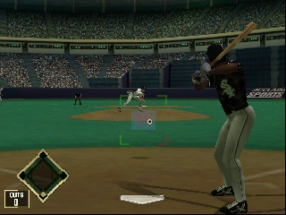 All-Star Baseball 2000 (USA) In game screenshot